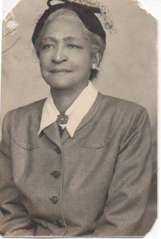 Claudia Amelia Wynter Tate