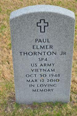 Paul Elmer Thornton Jr Gravesite
