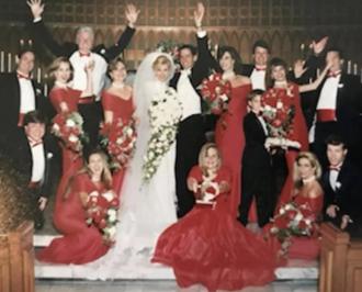 Wedding photo of Angela and Thomas