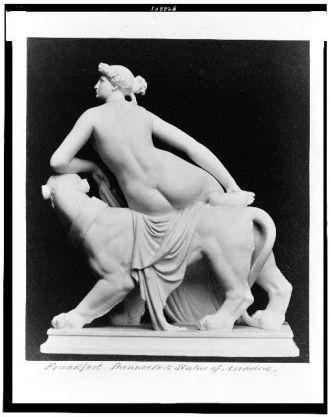 Frankfort. Dannecker's statue of Ariadne