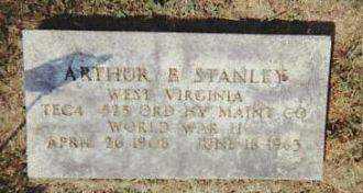 Arthur (Bill) Stanley gravesite