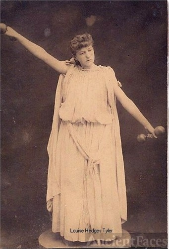 Actress Louise M. Hedges Tyler