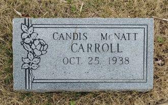 Candis A. McNatt Carroll Gravesite
