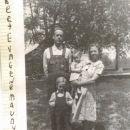 Hubert Dobbs with family