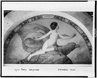 Lyric poetry; Ganymede / H.O. Walker, artist.
