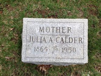 Julia A. (Lerg) Calder