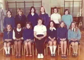 Elaine Griffiths at carlton school  uk 1973