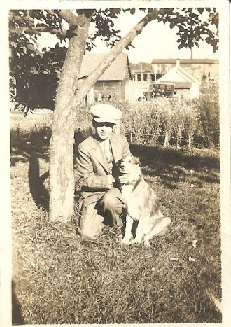 Kenneth unknown with dog