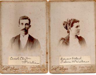 Mr. & Mrs. McWilliams 1895 Ohio
