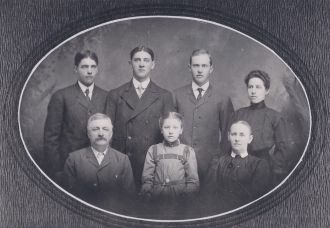 William Henry Cline family