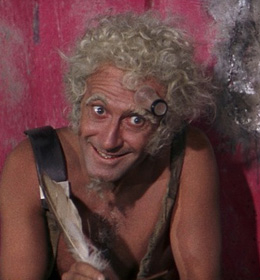 Marcel Marceau in the film BARBARELLA.
