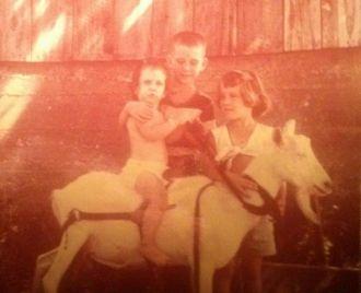 Pinkley kids, 1955