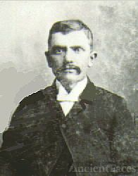 Louis Henry Willms on his wedding day