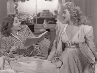 Joan Blondell and Greer Garson