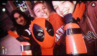 Danielle with Deadpool