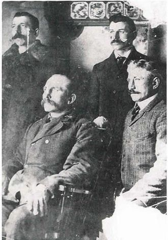 George Wallingford's four sons
