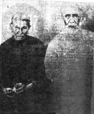 John Baptist Bruno and Mary Rhodd