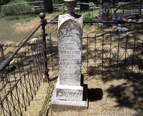 Alonzo Church Headstone