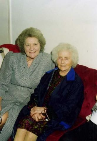 Doris Shepherdson & Eunice Bowman