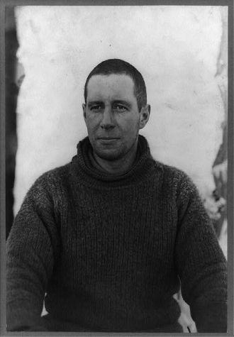 [Captain Lawrence E.G. Oates, half-length portrait,...