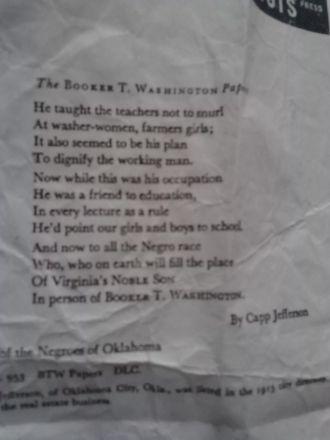 Poem by Cap Jefferson