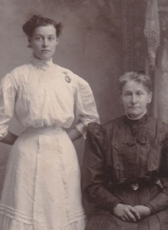 Mary and Kathryn Cooper