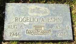 Rogelio A. Espin Gravestone