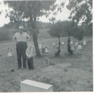 Ralph Loyd and grandchild