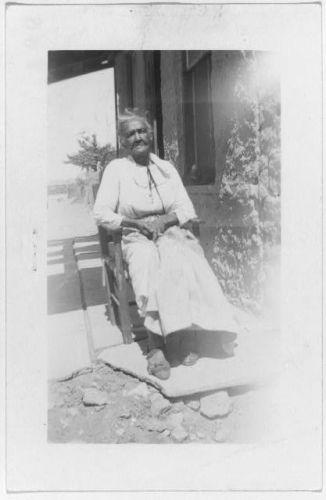 Rosa Washington, ex-slave, El Paso