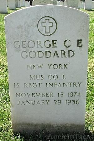 George C E Goddard Gravesite