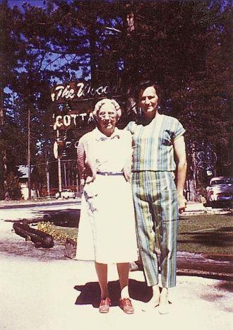 Mama Visits at The Woods Resort