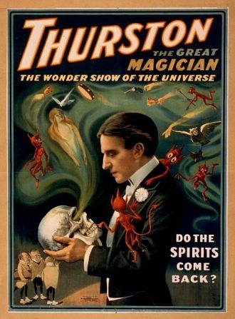 Thurston the great magician the wonder show of the universe.