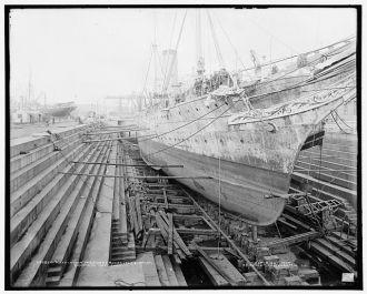 Mayflower, President Roosevelt's yacht