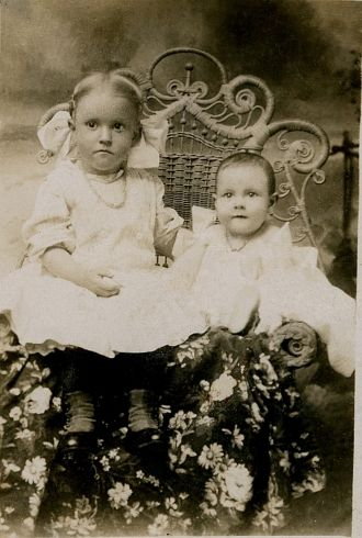 Ruby and Agnes Thibault