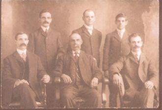 Blanchard family 1900's, Rhode Island