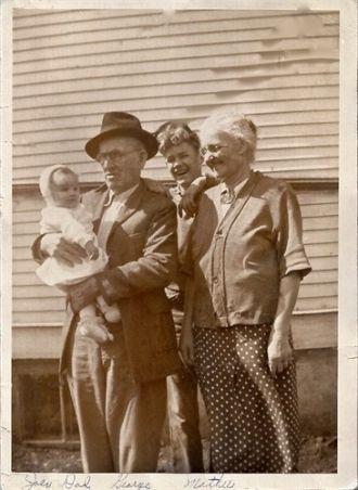 George Martin Eckhart family