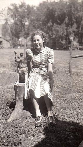 Norma Jean (Roos) Dettmer & Tiny