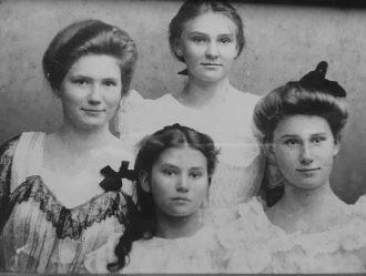 The Four Rennie Girls