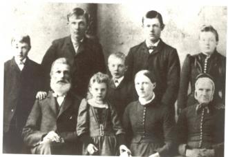 Elling P. Enger family