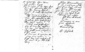 Letter from Sam Bass in Denton, TX to His Uncle, David L. Sheeks in Mitchell, IN, Dec 8, 1872, P. 2