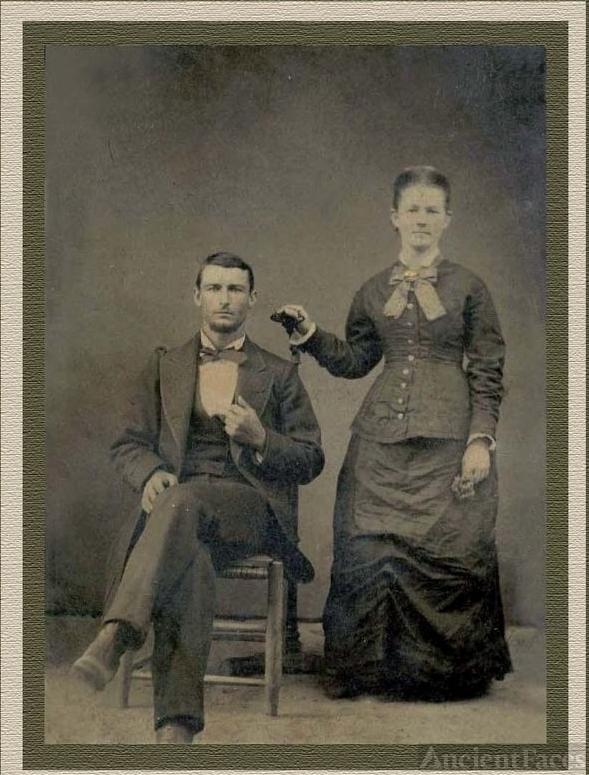 John Thomas and Parnelia Frances