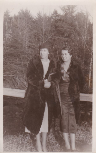 Alyce M (Patenaude) Chase and Bertha M. (Patenaude) Meade