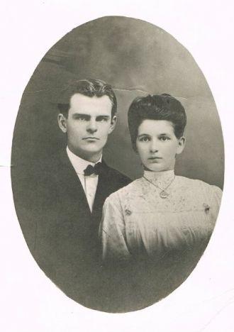 Charles Adelbert Tibbits & Grace Belle Larkin