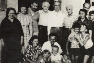 Mileta Kalember with Drakulic family