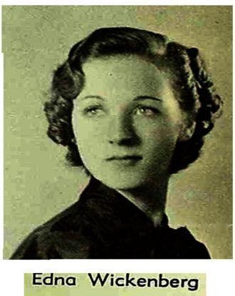 Edna Wickenberg, California