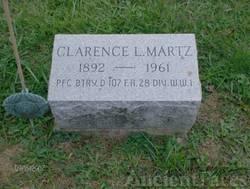 Clarence Lafayette Martz gravesite