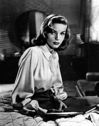 A photo of Lauren Bacall