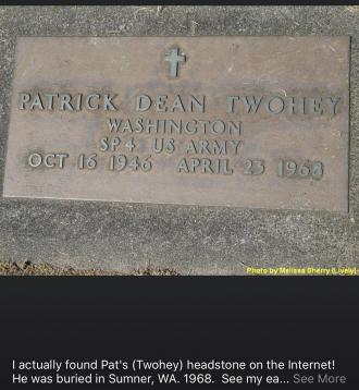 Patrick D. Twohey Gravesite