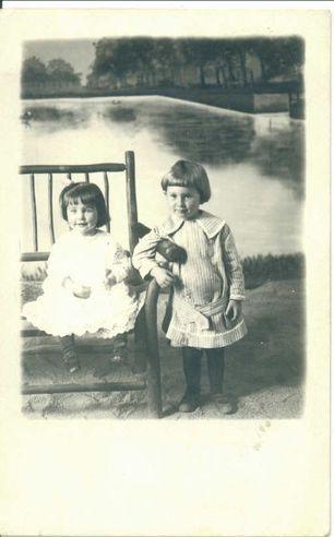 Martha Grace and Warren Jr.