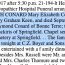 Mary Elizabeth Keen Obituary